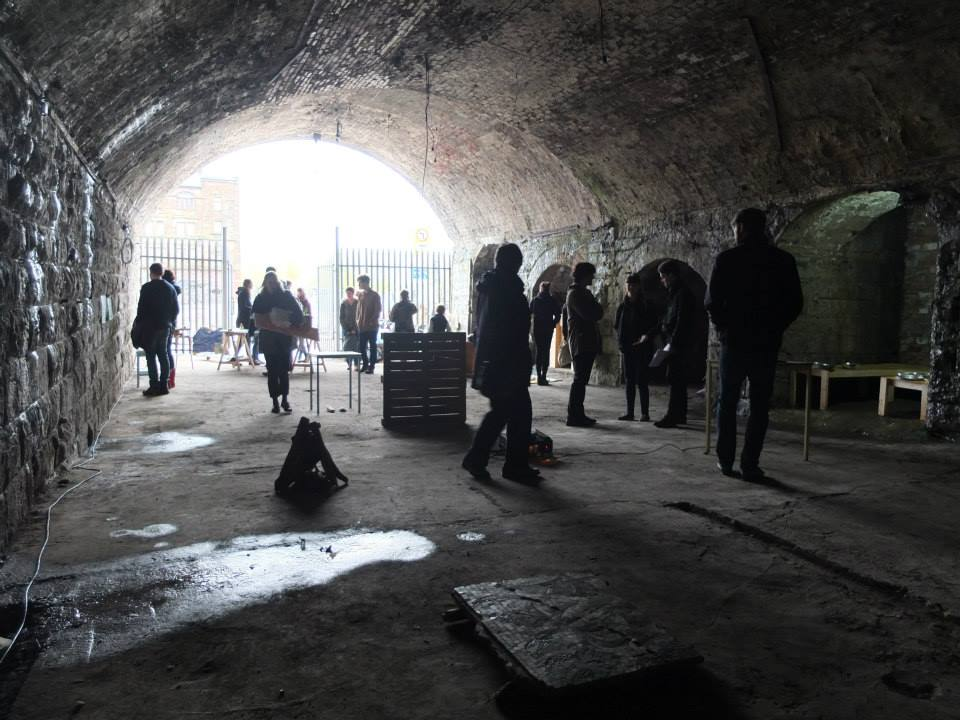 Laurieston Railway Arches exhibition, (Venue 33, 2015)