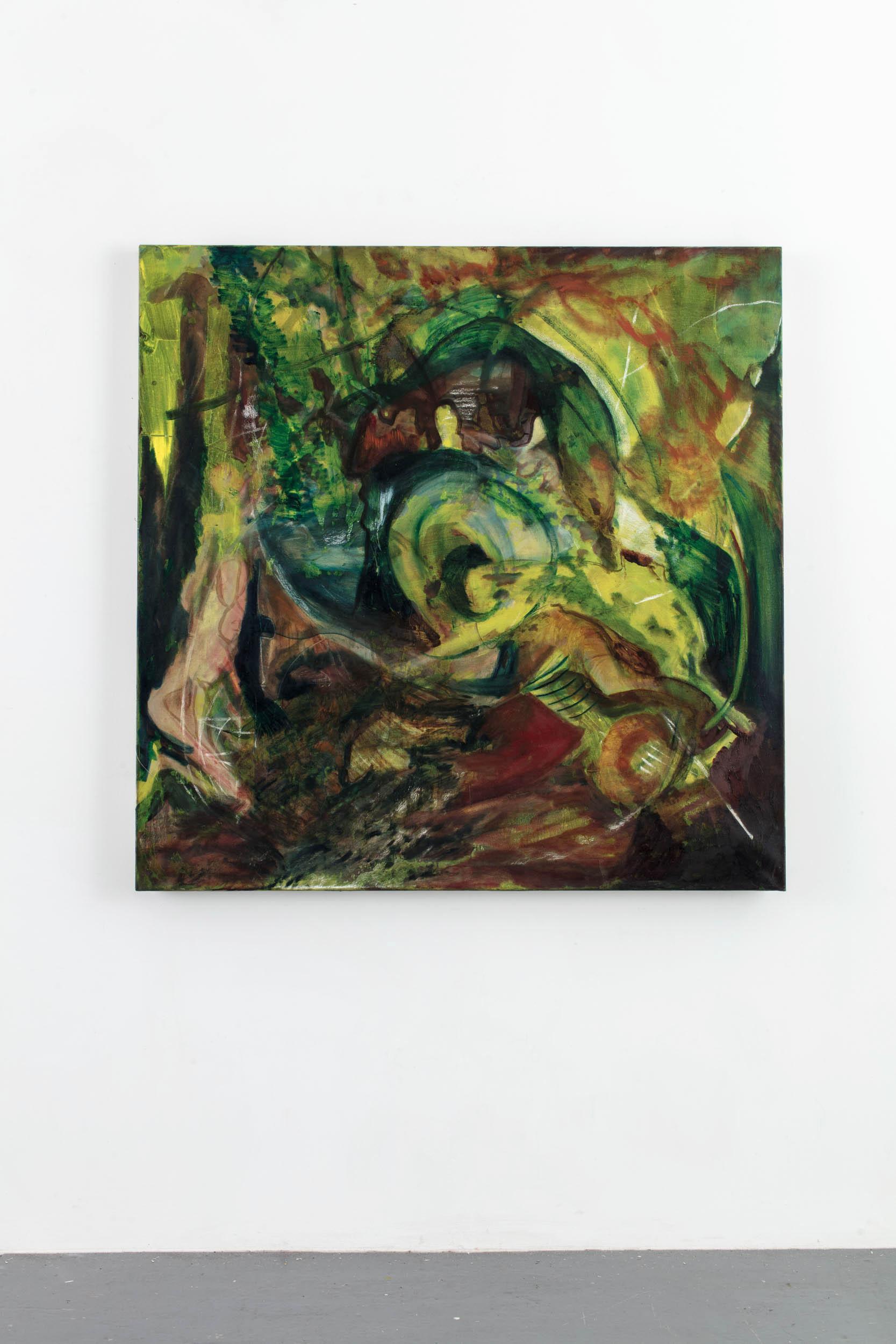 Oil on linen, 150cm x 150cm